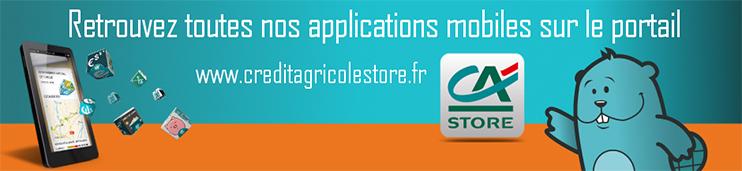 decouvrez toutes nos applications mobiles sur CA Store