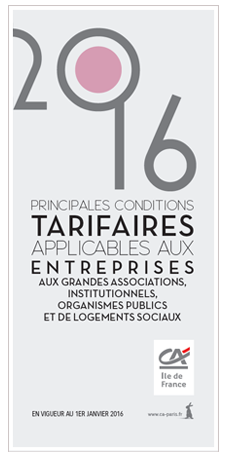 Tarifications pros pme 2016