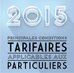 Tarifications particuliers 2015
