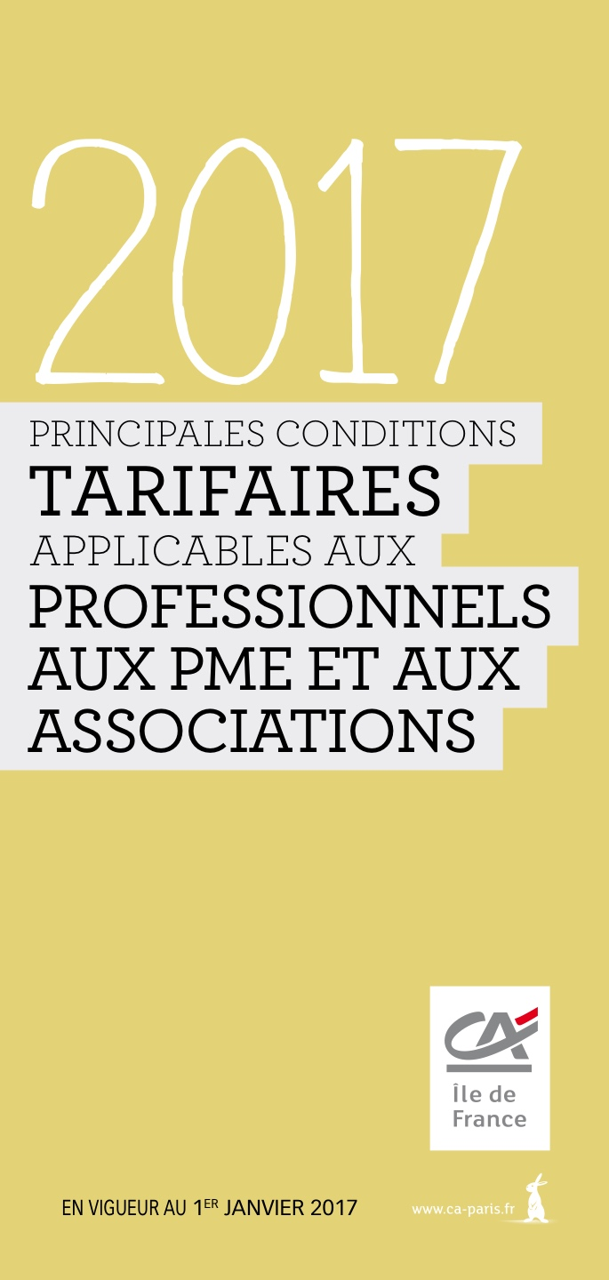 Tarifications pros pme 2017