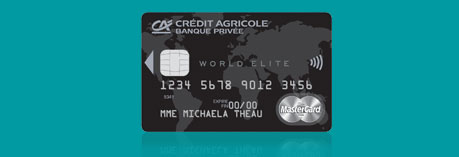 Cr dit agricole d ile de france world elite mastercard - Plafond retrait mastercard credit agricole ...